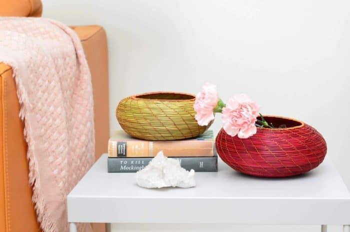 Decorative accent bowl