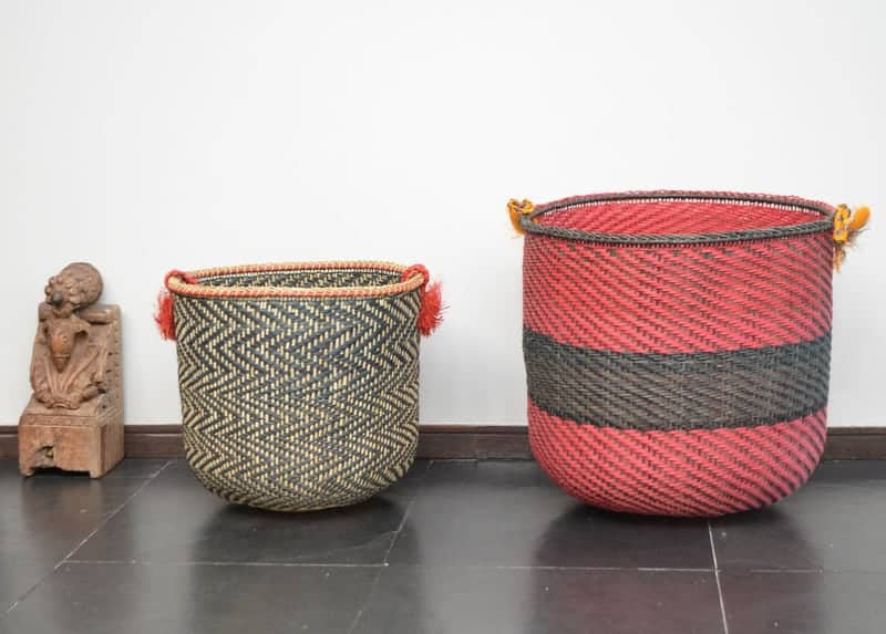Natural fiber Cubeo baskets from Vaupez, Colombia