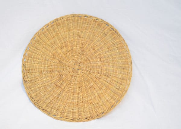 main product image of a Round woven placemats made from Esparto fibers