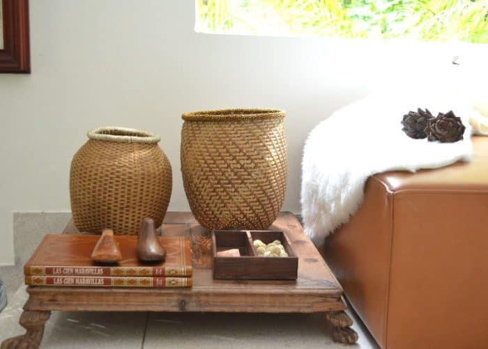 Iraca Baskets. Handmade