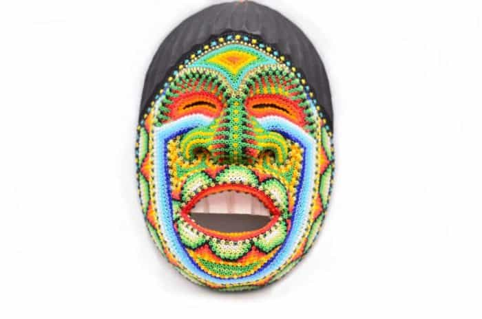 Main product image of a Decorative Ceremonial Wall Mask resembling a person's Laughter