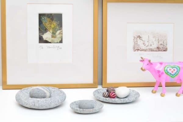 Decorative sculpted rocks