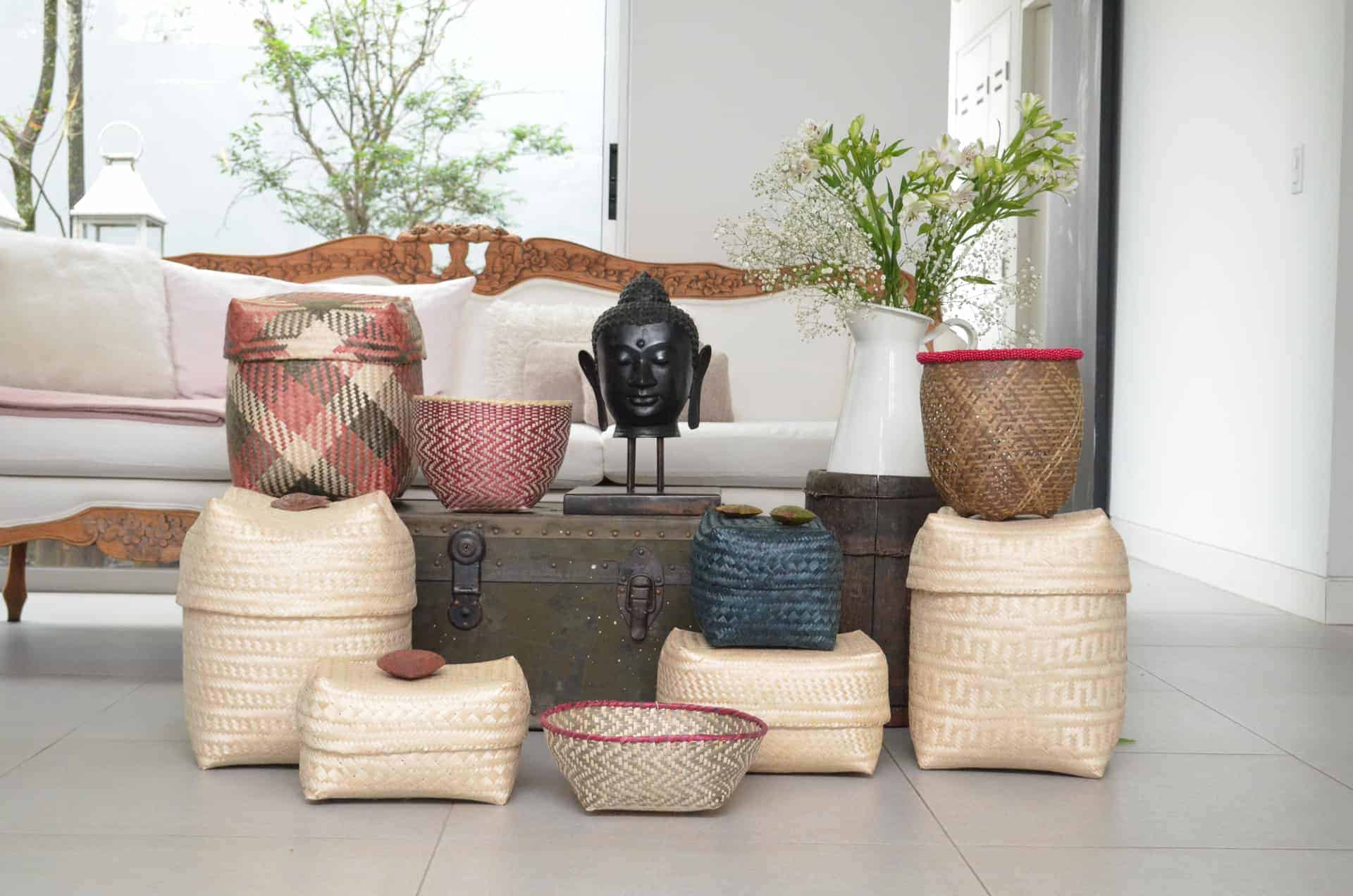 Paja Tetera and Iraca Baskets