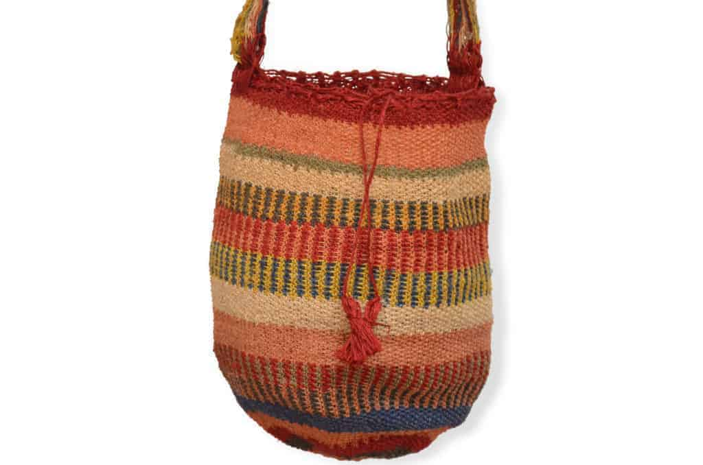 Kiskadee Design Catalogue Image of a Ponton Pattern Kankuamo Fique Mochila by Women of the Indigenous Tribe in the Sierra Nevada de Santa Marta - Colombia