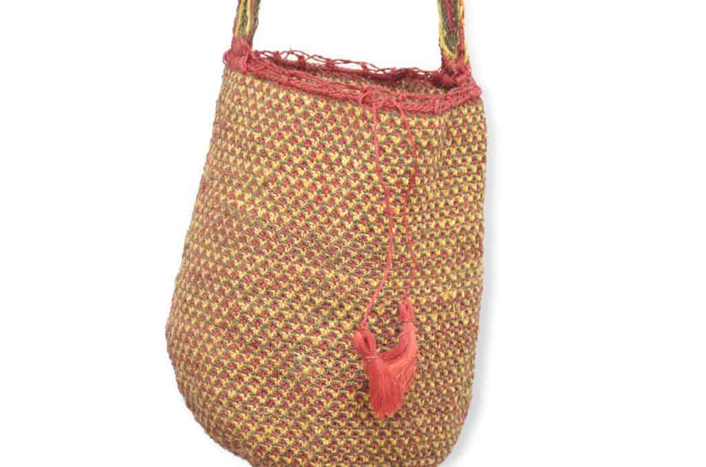 Kiskadee Design Catalogue Image of a Ramalito Pattern Kankuamo Fique Mochila by Women of the Indigenous Tribe in the Sierra Nevada de Santa Marta - Colombia