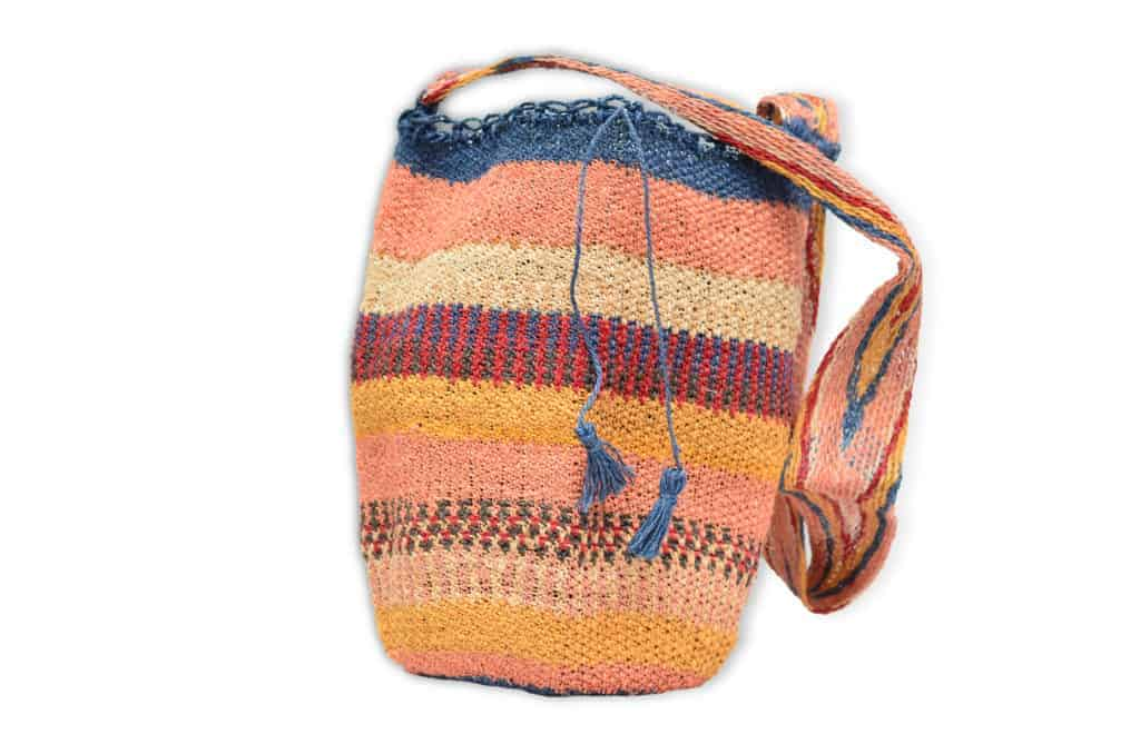 Kiskadee Design Catalogue Image of a Atanquez Pattern Kankuamo Fique Mochila by Women of the Indigenous Tribe in the Sierra Nevada de Santa Marta - Colombia